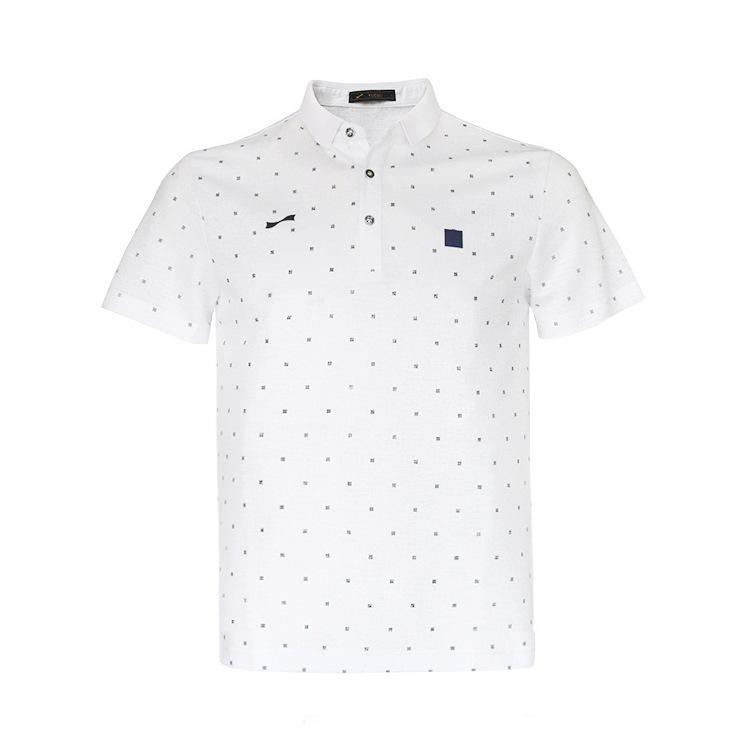 跃速男士翻领短袖T恤 款号:11809