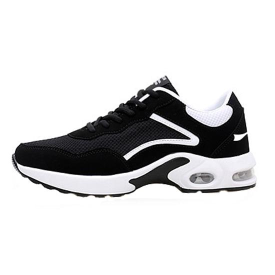 秋季户外跑步鞋运动鞋男子 款号:1119(黑白款)