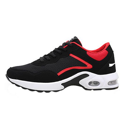 秋季户外跑步鞋运动鞋女子 款号:1119(黑红款)