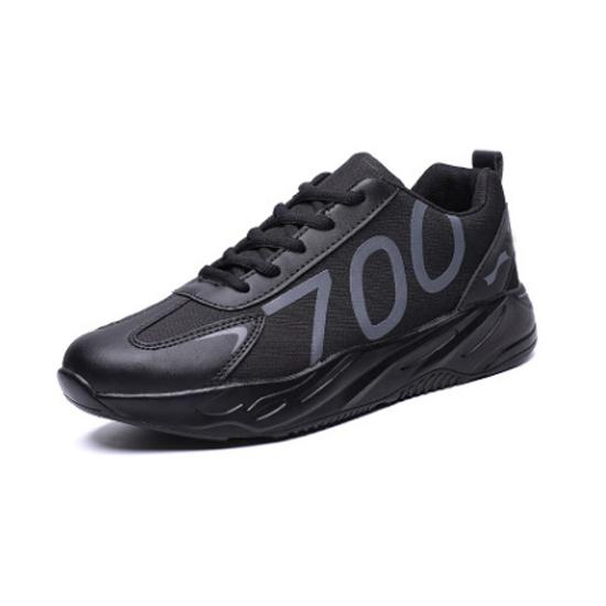 跃速新款秋冬运动鞋 款号:1121(黑色)
