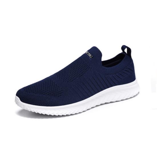 跃速秋季运动休闲鞋 款号1118(深蓝色)