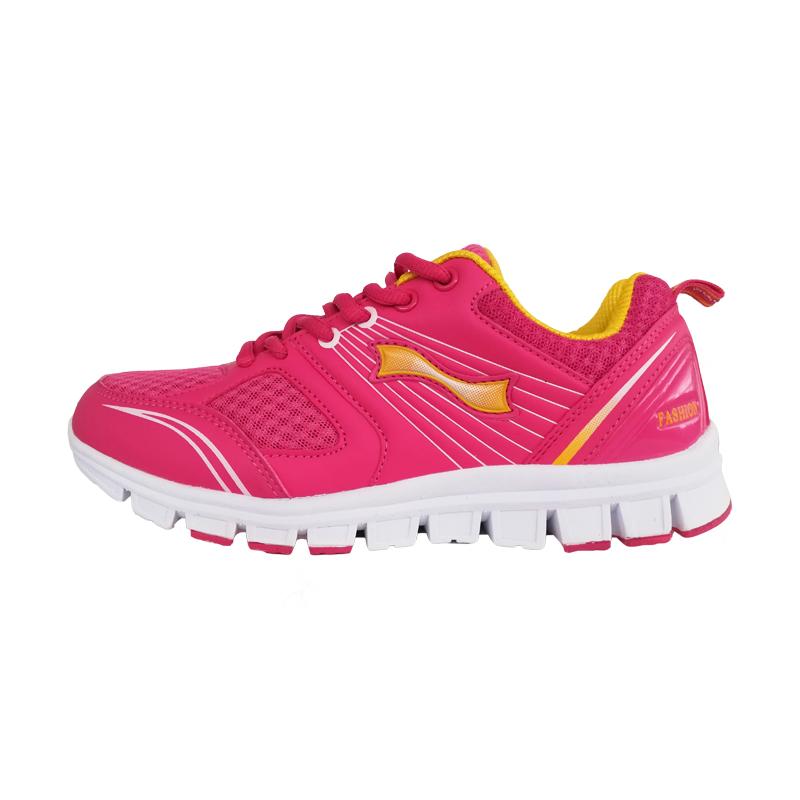跃速体育女子休闲运动鞋 跃速女士秋冬季鞋子