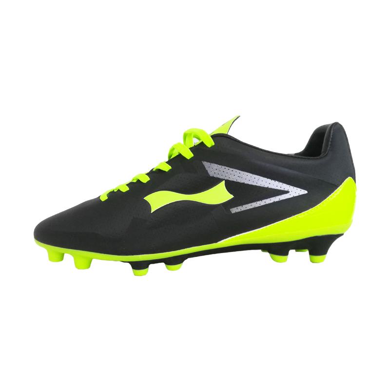 跃速体育男子专业足球鞋 跃速运动鞋 黑色 款号:1109