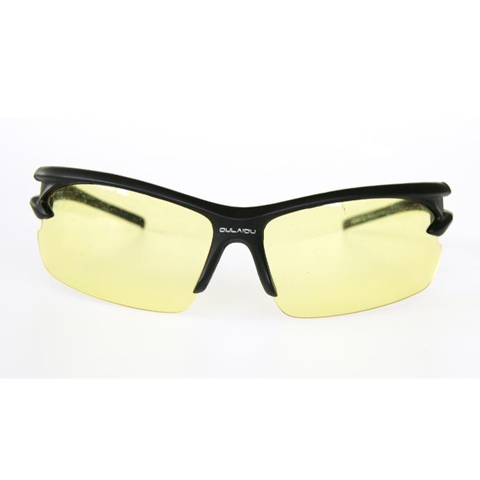 骑行眼镜(黑框黄色镜片)