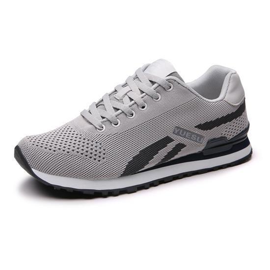 跃速2020年新款休闲运动鞋 灰/黑色 款号:11001