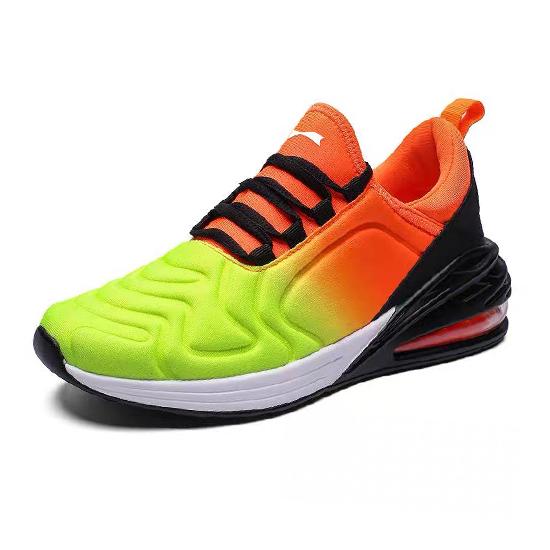 跃速男子气垫运动鞋 橙黄色 款号:11004