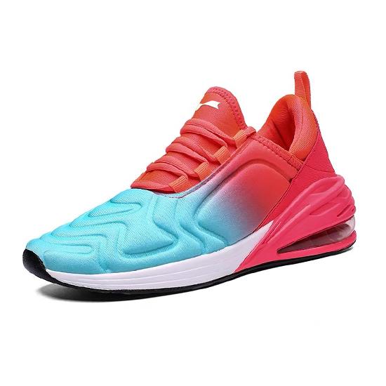 跃速男子气垫运动鞋 西瓜红 款号:11004