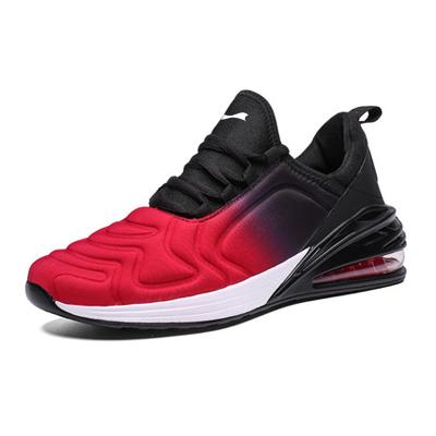 跃速男子气垫运动鞋 玫红/紫色 款号:11004