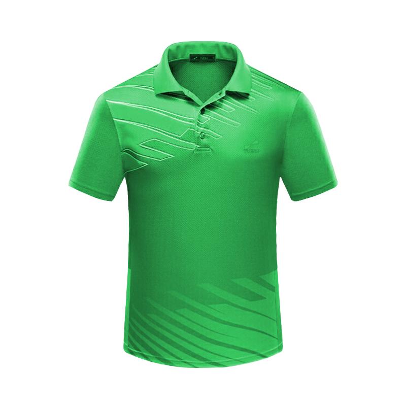 跃速夏季休闲运动T恤 时尚新款上衣 绿色
