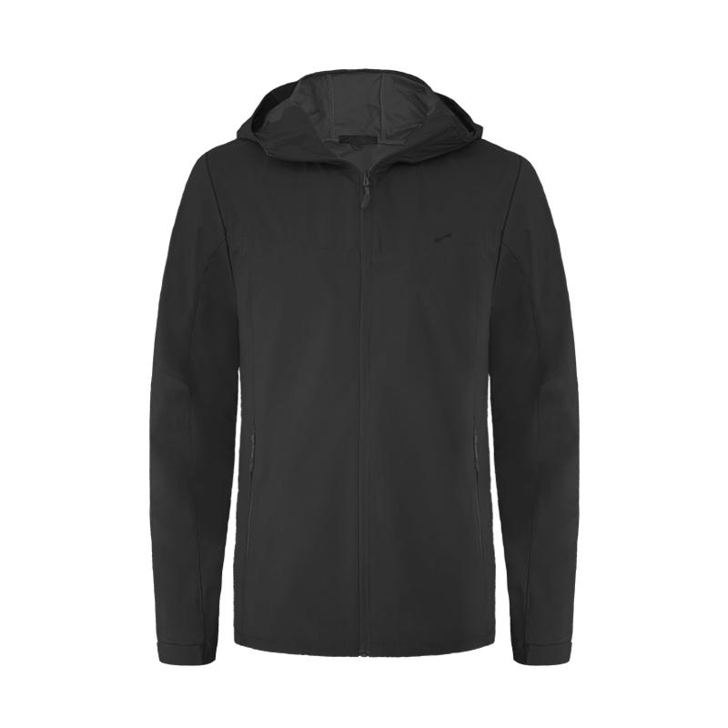 跃速最新男士运动风衣外套 款号 13012 黑色